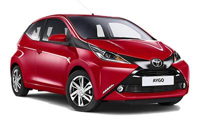 Toyota Aygo 1.0 VVT-i x-cool TSS 5 porte