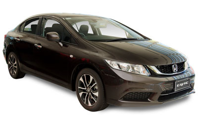 Honda Civic 1.8i-VTEC Executive (z pakietem) 4 drzwi