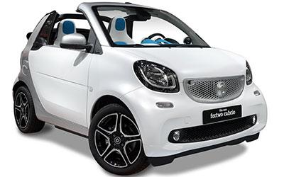 smart fortwo cabrio 80 kW twinamic Brabus Xclusive 2 drzwi
