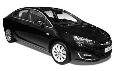 Opel Astra 1.6 Twinport 115KM Auto 4 drzwi